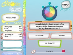 Chrono Quiz